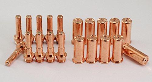 C1403-Elektrode-lange-C1395-Schneiddse-fr-Cebora-P70-Trafimet-PR0064-CB70-Fackel-20pcs