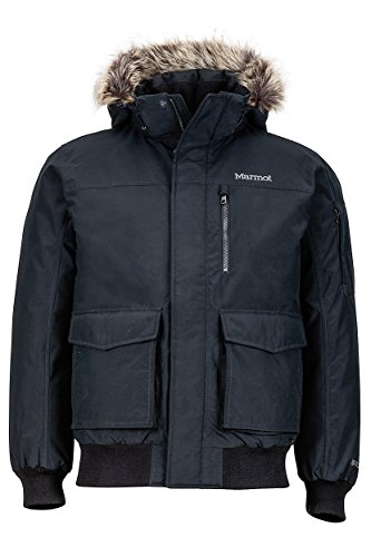 marmot-stonehaven-fur-insulated-bomber-winter-jacket-black-mens-xl