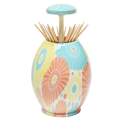 Egg Shaped Toothpick Dispenser / Tooth Pick Holder In