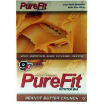 PureFit Nutrition Bar Gluten Free Peanut Butter Crunch -- 15 Bars