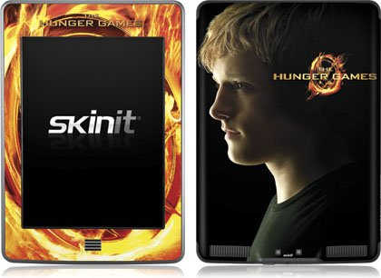 Skinit The Hunger Games -Peeta Mellark Vinyl Skin for Kindle Touch