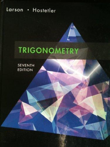 Title: LARSON TRIGONOMETRY 7ED(PASADENA)CPC