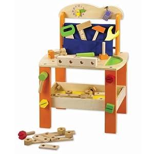 ... workbench [educational toys] [wooden toy] (japan import): Amazon.co.uk