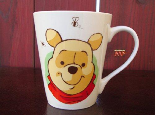 "Winnie The Pooh & Tigger 4"" Porcelain Ceramic Coffee Tea Cup Mug 12Oz Original Classic (Pooh Bear) Artwork! Christopher Robin"