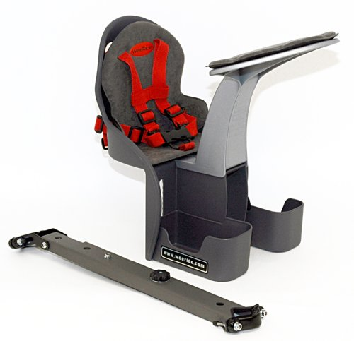 WeeRide Kangaroo Front Mounted Children's Safest Bike Seat, Ages 1-4