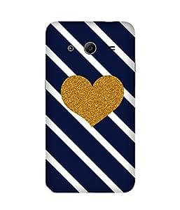 Golden Heart Samsung Galaxy Core 2 Case