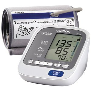 Cheap Omron BP760 7 Series Upper Arm Blood Pressure Monitor, Gray/white, Large & FREE MINI TOOL BOX (ml) (B0087E4CLE)