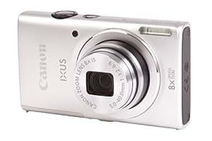 Canon IXUS 140 Digitalkamera (16 Megapixel, 8-fach opt. Zoom, 7,6 cm (3 Zoll) Display, bildstabilisiert, DIGIC 4 mit iSAPS) silber