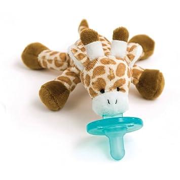 Amazon.com : WubbaNub Infant Pacifier - Giraffe : Baby Pacifiers : Baby