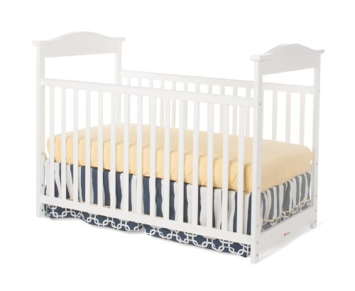 Foundations Worldwide The Princeton Clear Choice Full Size Crib, White - 1