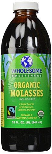 Wholesome Sweeteners - Organic Molasses Unsulphured - 32 oz.