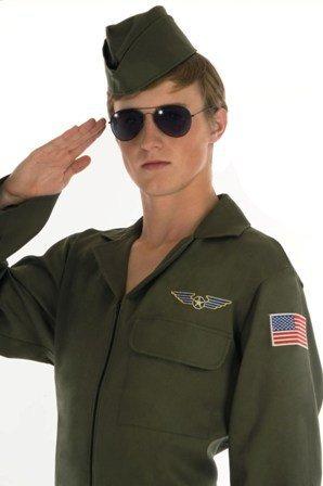 Aviator - Top Gun. Costume Fancy Dress Clothing. Size : Large.