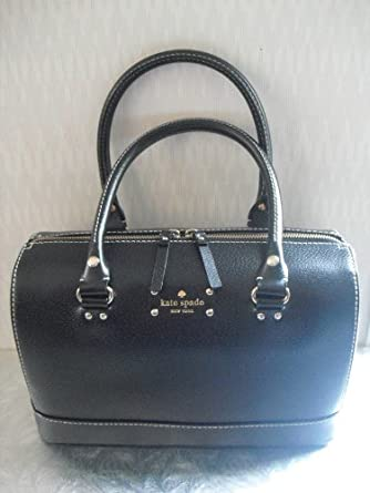 Kate Spade Wellesley Leather Kaleigh Purse Bag ~Black