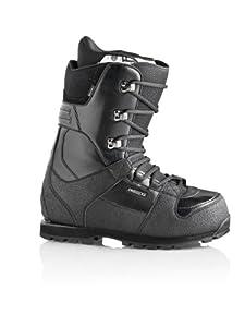 DEELUXE Snowboarding Men's Independent BC PF Snowboard Boots, Black, 26.5