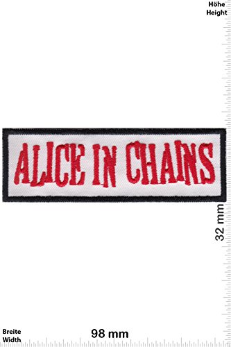 Patch - Alice in Chains - Grunge-Band - Musicpatch - Rock - Vest - Iron on Patch - toppa - applicazione - Ricamato termo-adesivo - Give Away