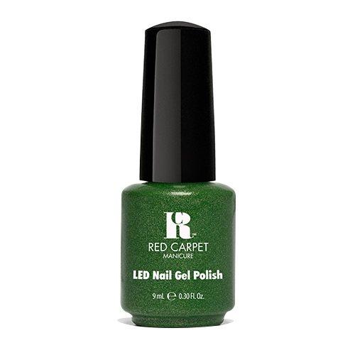 Red Carpet Manicure - Led Gel Polish - Emerald - 9Ml / 0.3Oz
