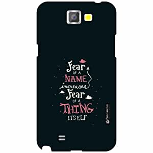 Printland Back Cover For Samsung Galaxy Note 2 N7100 - Star Designer Cases