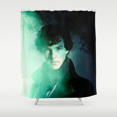 Amazing Sherlock Shower Curtain
