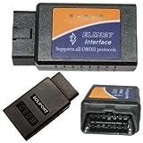 Yongtek ELM 327 Bluetooth Obdii Obd2 Diagnostic Scanner, Elm327 Wireless OBD 2 Scan Tool Check Engine Light CAR Code Reader
