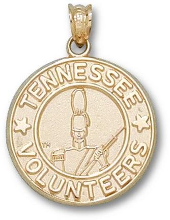 Tennessee Volunteers Volunteer Seal Pendant - 14KT Gold Jewelry by Logo Art