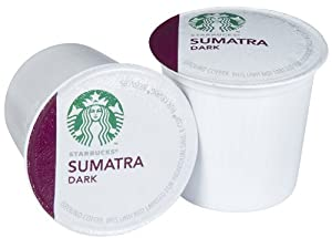 Starbucks Sumatra K-Cups , 54-Count from CAJ International (Starbucks)