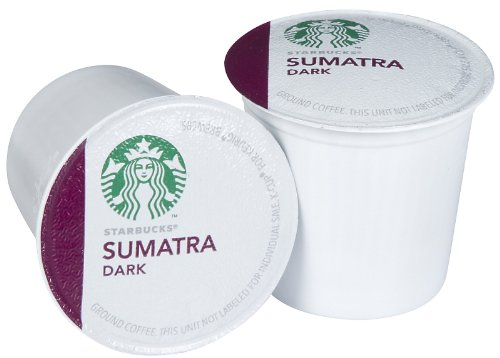 Starbucks Sumatra Coffee K-Cups (96 Count) front-615566
