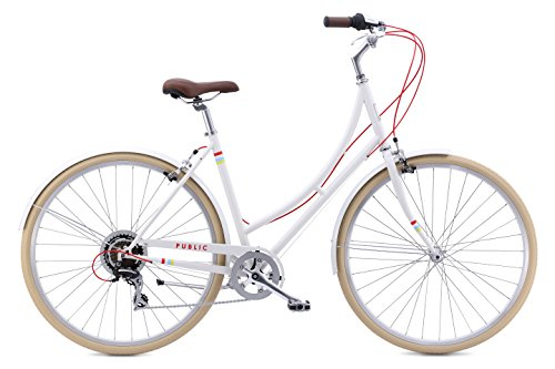 "Sale!! PUBLIC Bikes Women's C7 Dutch Style Step-Thru 7-Speed City Bike, 16""/Small, Cream (2015 ..."