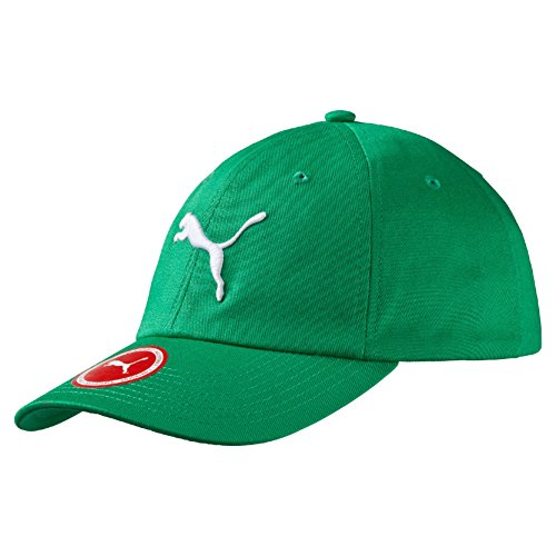 Puma Ess Cap Cappellino con Berretto, Verde/Grigio (Jelly Bean/Big Cat), Adulto