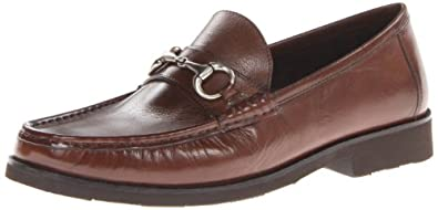 Florsheim Men's Tuscany Bit Slip-On Loafer,Cognac Smooth,7 D US