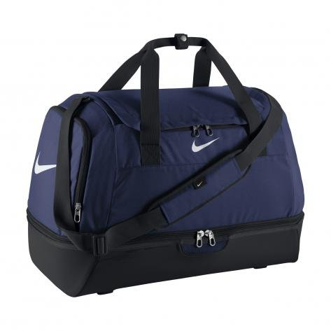 Nike - Borsone rigido Duffel Grip Club Team Swoosh