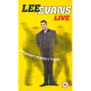 Lee Evans Live: The Different Planet Tour movies