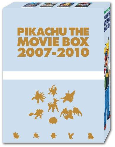 PIKACHU THE MOVIE BOX 2007-2010 [DVD]