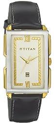 Titan Classique Analog Multi-Color Dial Mens Watch - NE1485YL01