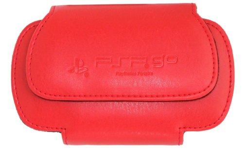 Sony lizenzierte Rot Flip & Play Tasche für Sony PSP Go, Sony PSP