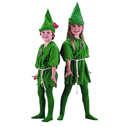 Child's Peter Pan Halloween Costume (Size: X-Small 4-6)