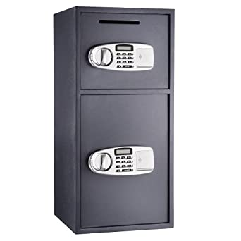 Paragon 7900 Double Door Digital Depository Lock and Safe Cash Drop Security