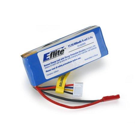 11.1V 800 mAh 3S LiPo Battery, JST/Bal: Blade CP Pro