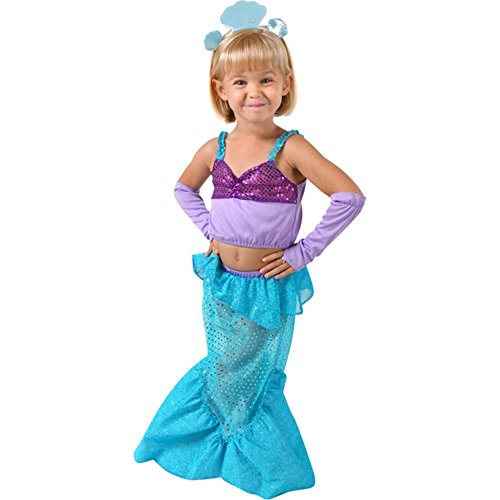 Little Mermaid Toddler Halloween Costume (Size: Toddler 2-4T)