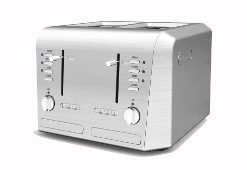 De'Longhi CTH4003 4-Slice Toaster (Delonghi Toaster Oven Tray compare prices)