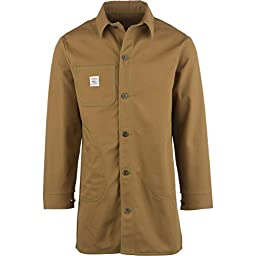 Pointer Brand Brown Duck Circle Pocket Long Jacket - Men\'s Brown Duck, M