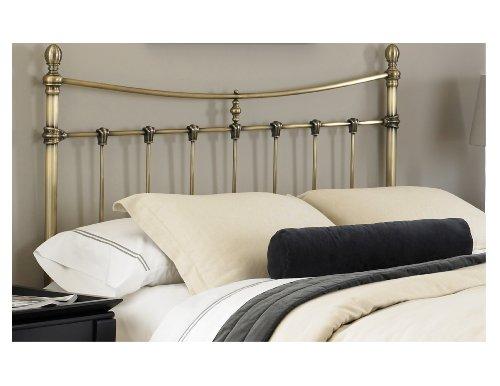 Leggett and Platt Fashion Bed Group Leighton Antique Brass Headboard, Queen, Bronze