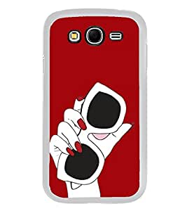 Sun Glasses 2D Hard Polycarbonate Designer Back Case Cover for Samsung Galaxy Grand 2 :: Samsung Galaxy Grand 2 G7105 :: Samsung Galaxy Grand 2 G7102