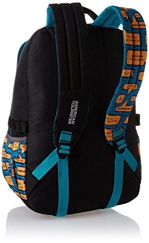 American-Tourister-25-Liters-BlackBlue-Casual-Backpack