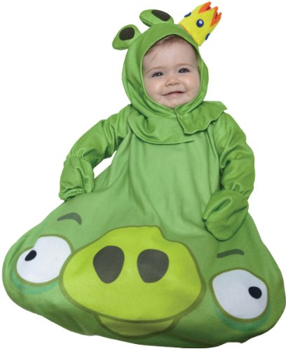 Baby Boy's Costume: Angry Birds, King Pig- 0-9 Months