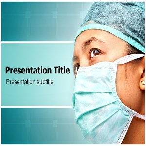 Medical Face Mask Powerpoint Templates - Medical Face Mask Powerpoint Background