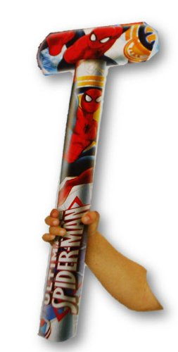 "Marvel Ultimate-Spiderman Inflatable Mallet - Inflates to 26"" X 14"" - 1"