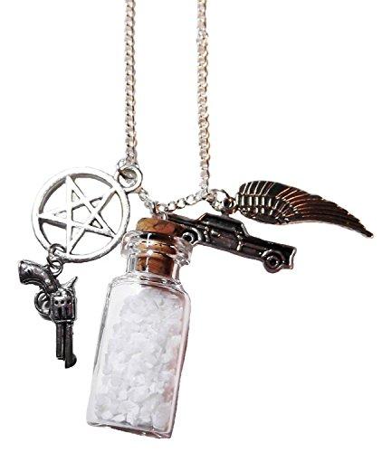 Supernatural Protection Necklace - Sea Salt Protection Locket - 1