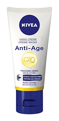 Nivea, Crema mani antietà Q10, 6 pz. da 100 ml