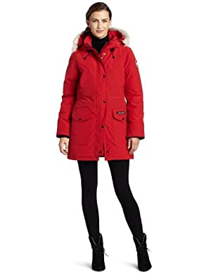 Canada Goose Women's Trillium Parka,Red,Medium