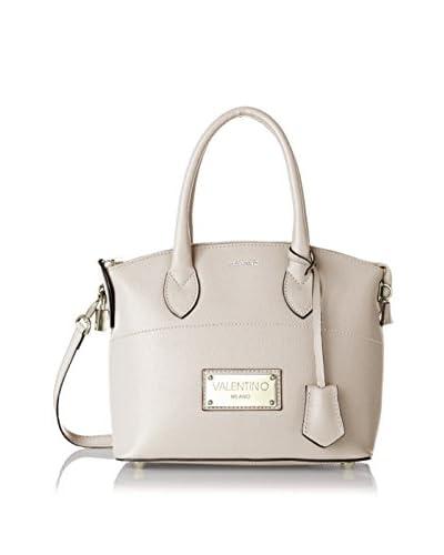 Valentino Bags by Mario Valentino Women's Brav Mini Convertible Satchel, Cream